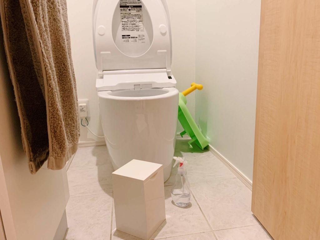 トイレのさっと掃除